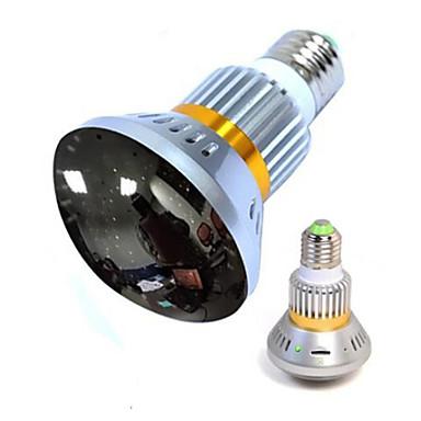 Wireless-Lampe Kamera mit Spiegelabdeckung und unsichtbare IR-Licht in der Nacht