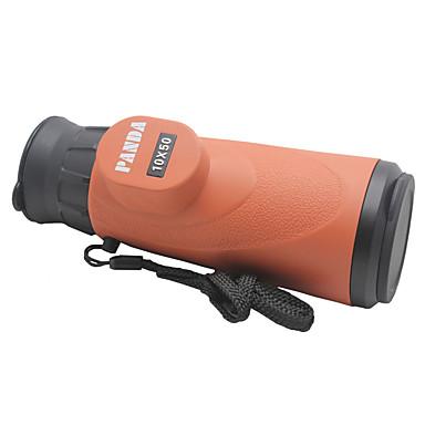 PANDA® 10X50 mm Monokulær Generisk Spotting Kikkert Høy definisjon Generelt bruk Jakt Fuglekikking Avstandsmåler Flerbelagt Normal94m /