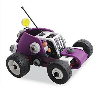 אבני בניין לקבלת מתנה אבני בניין מכונית פלסטיק גילאים 8-13 אדום לדעוך שחור צעצועים