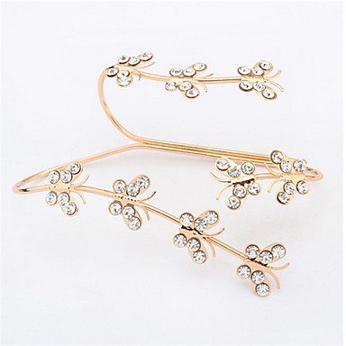 pulseira de borboleta de diamante incrível pulseira pulseira estilo feminino clássico