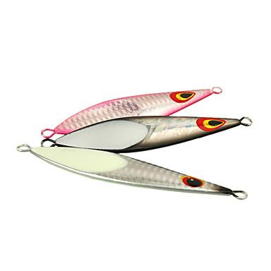 1 יח ' פתיונות דיג פיתיון קשיח פיתיון מתכת g/אונקיה,100 mm/4