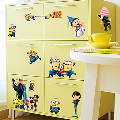Cartoon Design / Stillleben / Mode / Feiertage / Freizeit Wand-Sticker Flugzeug-Wand Sticker,PVC 60*30*0.1