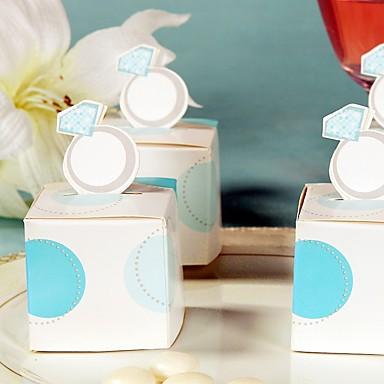 Créatif Papier durci Titulaire de Faveur avec Motif Boîtes à cadeaux Sacoches à cadeaux Emballages à Biscuits Boîtes Cadeaux