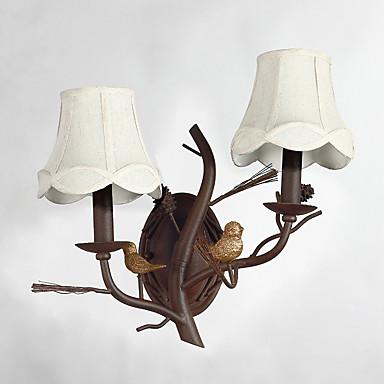 ramo industrial lâmpada de parede retro personalidade decorar à luz parede hallyway / foyer / quarto
