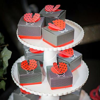 Créatif Papier durci Titulaire de Faveur Avec Boîtes à cadeaux Boîtes Cadeaux Emballages à Biscuits