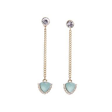 Damen Ohrring - Künstliche Perle Europäisch, Modisch Golden Für Party / Alltag / Normal / Strass