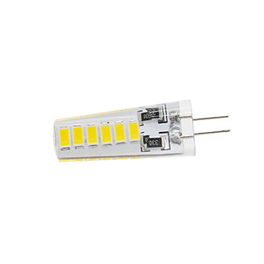 400 lm G4 LED2本ピン電球 T 12 LEDの SMD 5730 防水 温白色 クールホワイト DC 12V