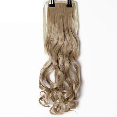 저렴한 가발 & 헤어 연장-Cross Type 인간의 머리카락 확장 바디 웨이브 클래식 옴브레 포니테일 인조 합성 헤어 M2-33 번호 M4-30 번호 M4-33 번호