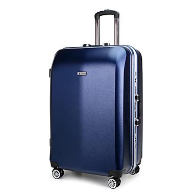 Damen Koffer PU Normal Weiß Rot Blau Rosa