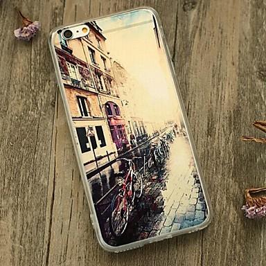 Til Støtsikker Etui Bakdeksel Etui Bylandskap Myk TPU til Apple iPhone 6s Plus/6 Plus iPhone 6s/6