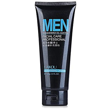 homens de energia de limpeza profunda limpeza esfoliante cuidados com a pele