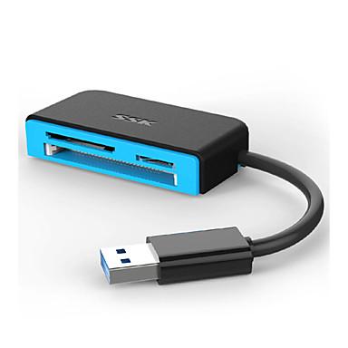 SSK Compact Flash / SD / SDHC / SDXC / MicroSD / MicroSDHC / MicroSDXC / TF Todos-em-Um USB 3.0