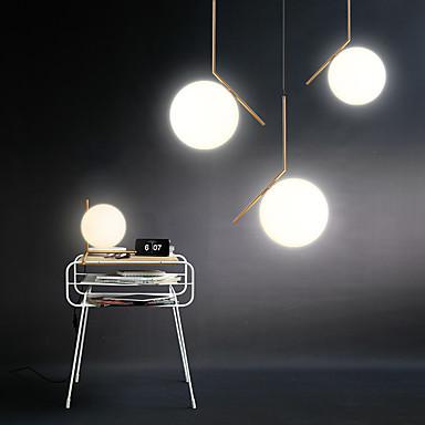 Traditionnel/Classique Moderne/Contemporain Style mini Lampe suspendue Lumière dirigée vers le bas Pour Salle de séjour Chambre à coucher
