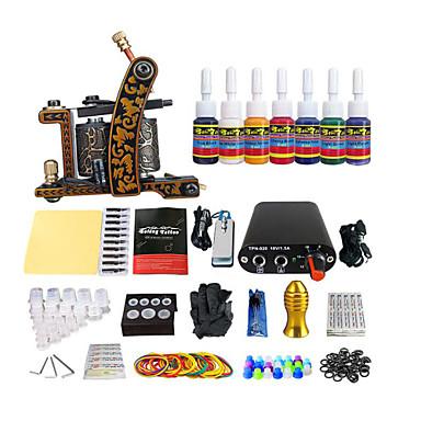 kits de tatouage pour débutants Mini source d'alimentation Kit complet