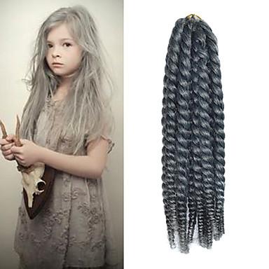 הוואנה 100% שיער קנקלון 1 צמות טוויסט צמות שיער