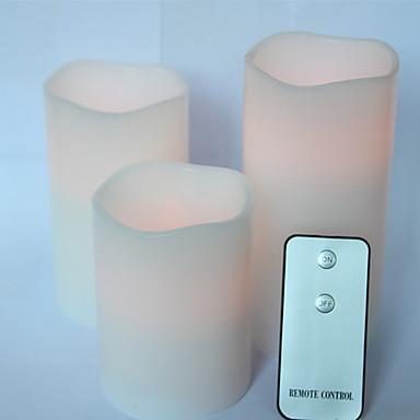 1db távirányító véletlen kreatív pub oldalon telek LED lámpa éjszakai fény led elektron bougie