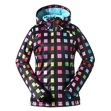 Gsou SNOW® Skikleidung Ski/Snowboard Jacken / Softshell Jacken / Hut Damen Winterkleidung Polyester / Vlies Kleidung für den Winter