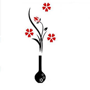 Botânico Adesivos de Parede Autocolantes 3D para Parede Autocolantes de Parede Decorativos, Vinil Decoração para casa Decalque Parede