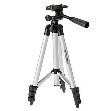 ismartdigi i-3110 4-seção tripé de câmera (prata + preto) para todos d.camera v.camera nikon canon sony Olympus ...
