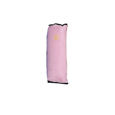 Seat Belt Cover seat belt Gray / Blue / Pink Textile Functional for universal