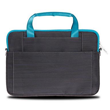 gearmax® 13inch candy-farget en-skulder laptop bag svart / blå / rosa