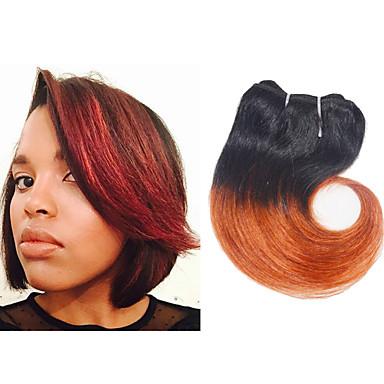 Cabelo Brasileiro Ondulado Tramas de cabelo humano 4 Peças 0.1