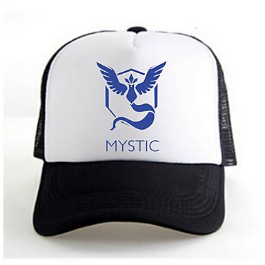 כובע קיבל השראה מ Pocket Monster Ash Ketchum אנימה אביזרי קוספליי כתרים / דְמוּת לבן / שחור סאטן זכר / נקבה