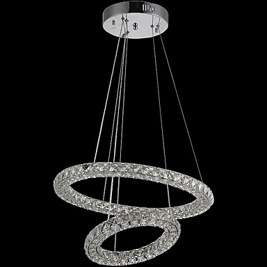 Pendelleuchten ,  Zeitgenössisch Galvanisierung Eigenschaft for Kristall LED MetallWohnzimmer Schlafzimmer Esszimmer Küche
