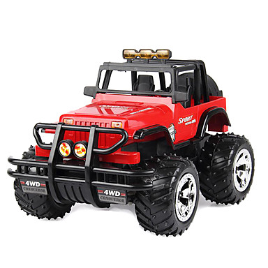 Carroça S.X.Toys 4WD 1:20 Electrico Não Escovado RC Car Vermelho / Verde Pronto a usarCarro de controle remoto / Controle