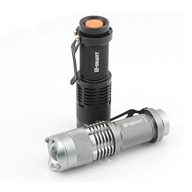 Lanternas LED LED 1 Modo 220 Lumens Tamanho Compacto / Super Leve Outros AA / Bateria de LítiumCampismo / Escursão / Espeleologismo / Uso
