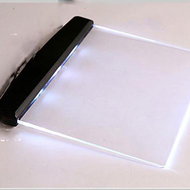 1pc הוביל אור לילה לוח מחקר סוללת Eyeshield