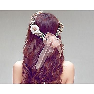 Harz Kunststoff Stirnbänder 1 Hochzeit Kopfschmuck