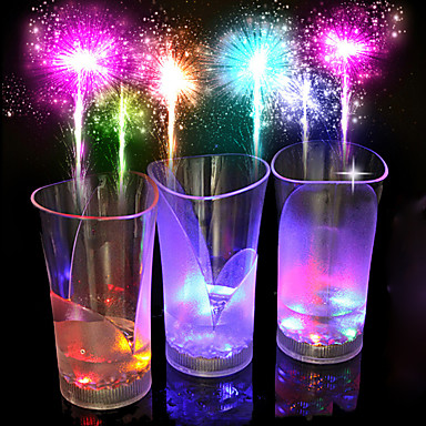 LED-Nachtlicht LED-Tassen & Gläser Mehrfarbig Batterie Sensor