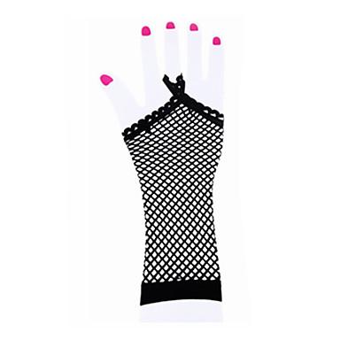 Tanz Accessoires Tanz-Handschuhe Damen Kinder Leistung Nylon Elasthan Überkreuzte Rüschen Handschuhe