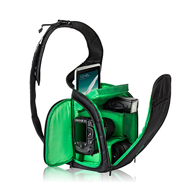 Bolsa-Verde / Laranja-Prova-de-Água / Á Prova-de-Pó-Um Ombro-Universal / Canon / Nikon / Olympus / Sony / Samsung / Pentax / Ricoh /