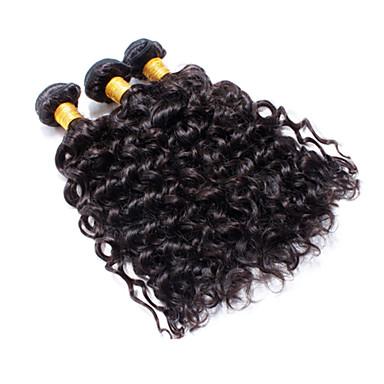 Człowieka splotów włosów Włosy brazylijskie Water Wave 3 elementy sploty włosów
