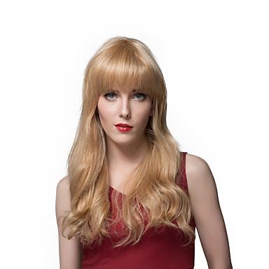 2016 עיצוב תספורת חדש ארוכות פאות שיער אדם גלי לנשים