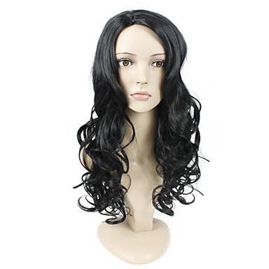 גל פאות השיער סינטטי fashional הטבעי של אישה