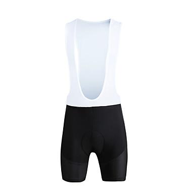 ILPALADINO Hombre Shorts Bib de Ciclismo Bicicleta Petos de deporte / Culotte con tirantes / Prendas de abajo Almohadilla 3D, Secado
