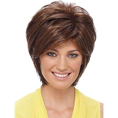 top eladó emberi haj paróka puha Remy haj rövid parókát