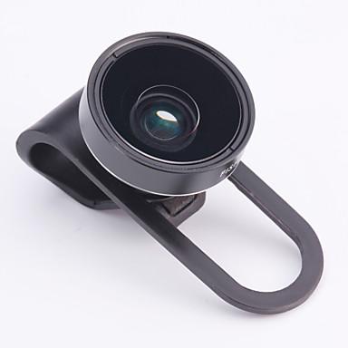 Skina cp-16 160 ° fish eye (ikke mørkt hjørne) svart / hvit