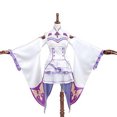 Inspirado por Outros Outros anime Cosplay Costumes Ternos de Cosplay / Vestidos Cor Única / EstampadoSaia / Vestido / Colarinho / Meias