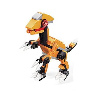 Blocos de Construir Brinquedos Dinossauro Plástico Crianças 1 Peças
