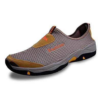 Herre-Tyll-Flat hæl-Komfort-/、懒人鞋-Fritid-