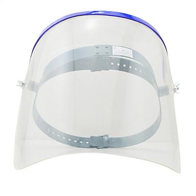 olje splash gjennomsiktig beskyttende masker headset plexiglass beskyttende masker