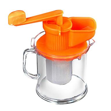 1 Home Kitchen Tool Plast Manuelle juicemaskiner