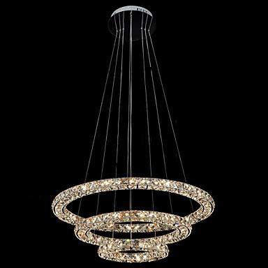 Anheng Lys Omgivelseslys - Krystall, LED, 110-120V / 220-240V, Varm Hvit / Kald Hvit, LED lyskilde inkludert / 10-15㎡ / Integrert LED