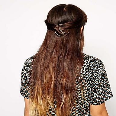 נשים סגסוגת כיסוי ראש-אירוע מיוחד קז'ואל חוץ כומתה קליפס לשיער סיכת שיער חלק 1