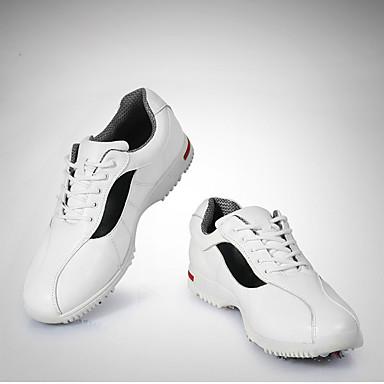 Herre-Lær / Mikrofiber-Flat hælSneakers-Friluft / Fritid / Sport-Hvit
