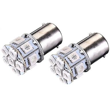 SO.K 2pcs BA15s (1156) Bil Elpærer 3 W SMD 5050 180 lm 13 LED Baklys For Universell